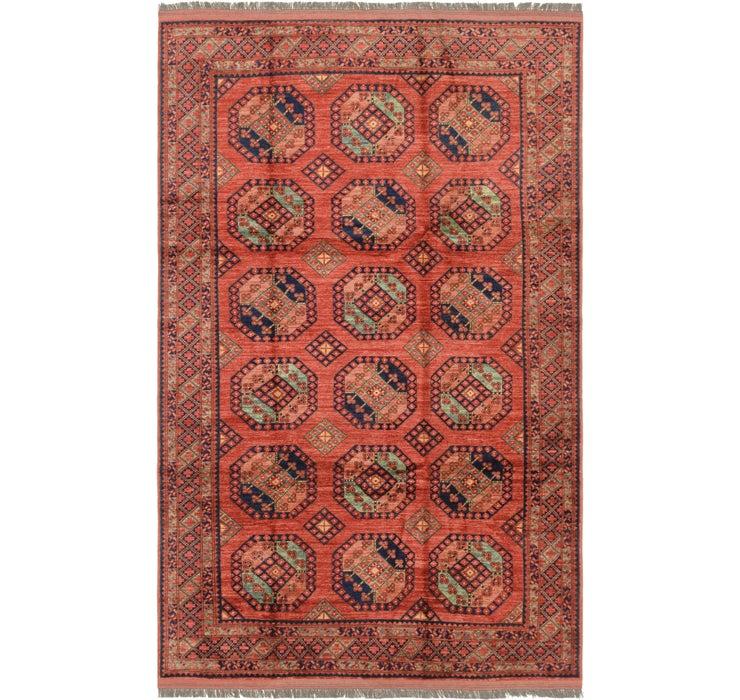 6' 11 x 11' 2 Afghan Ersari Rug