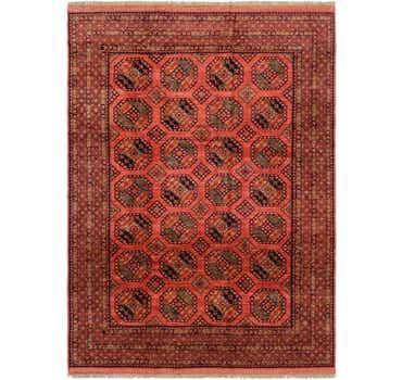 Image of 8' 5 x 11' 8 Afghan Ersari Rug
