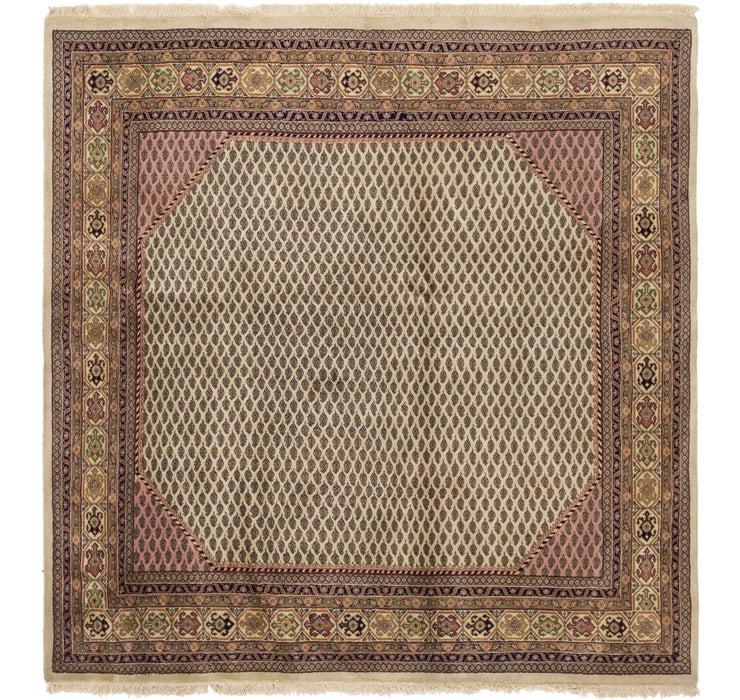 6' 5 x 6' 5 Mir Oriental Square Rug