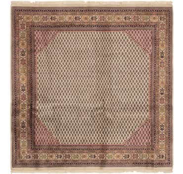 6' 6 x 6' 6 Mir Oriental Square Rug