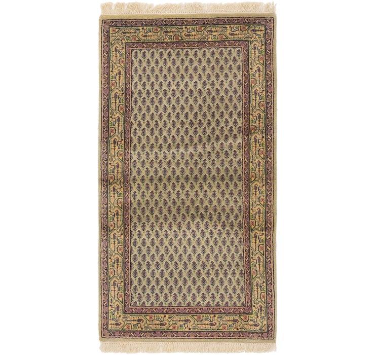 Image of 75cm x 142cm Mir Oriental Rug