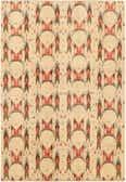 6' 8 x 9' 7 Ikat Oriental Rug thumbnail