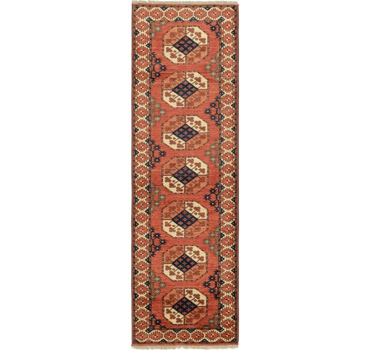 2' 10 x 9' 10 Afghan Ersari Runner Rug