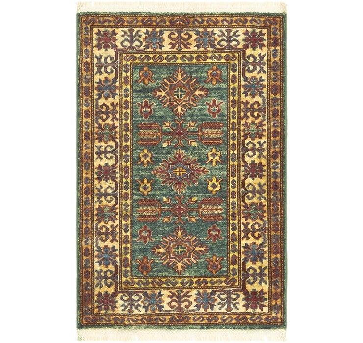 60cm x 90cm Kazak Oriental Rug