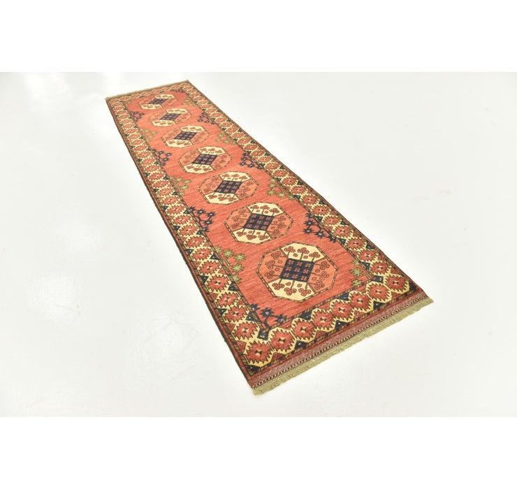 85cm x 310cm Afghan Ersari Runner Rug