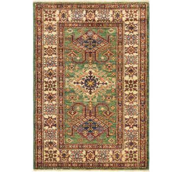 Image of 2' 9 x 4' Kazak Oriental Rug