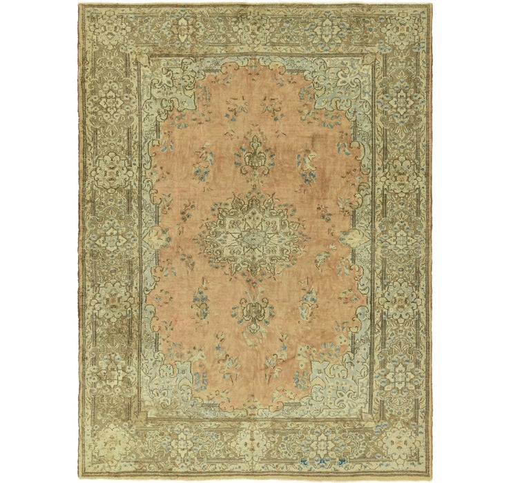 7' 10 x 10' Mashad Persian Rug
