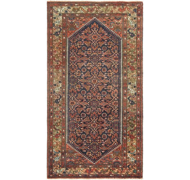 5' x 9' 5 Hossainabad Persian Rug