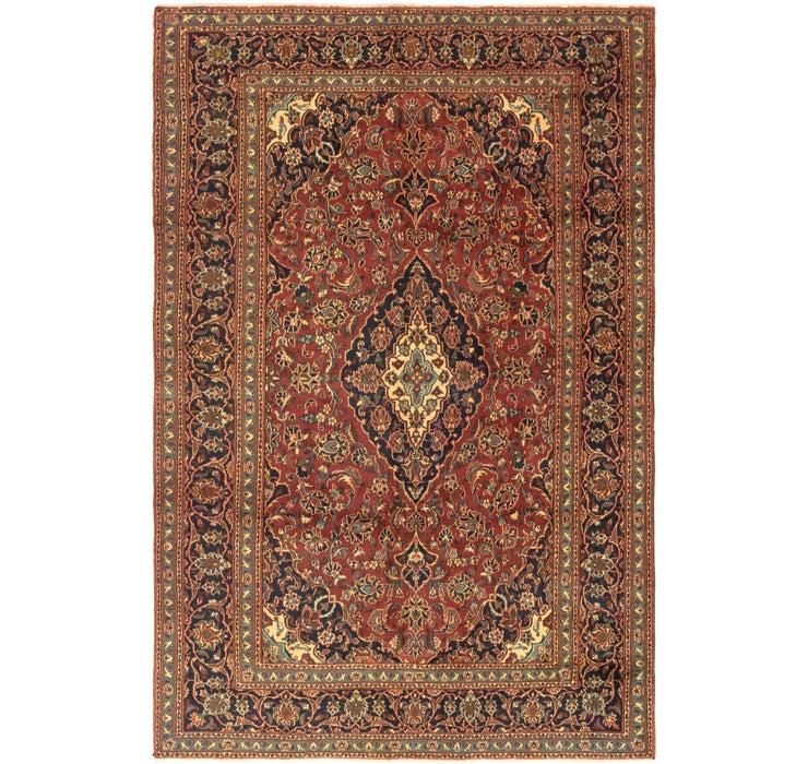 6' 1 x 9' 4 Mashad Persian Rug