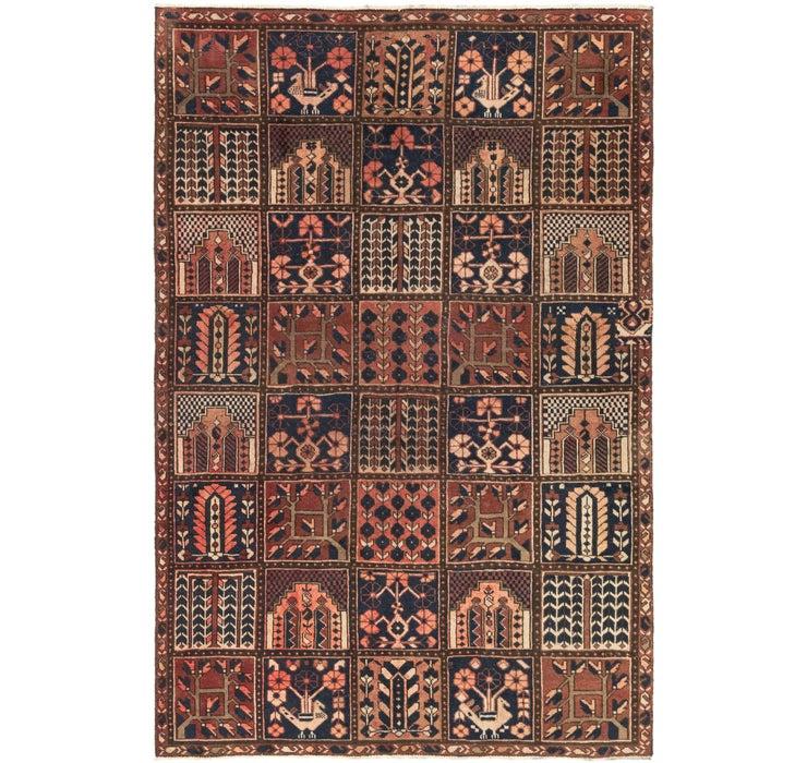 5' 6 x 8' 6 Bakhtiar Persian Rug