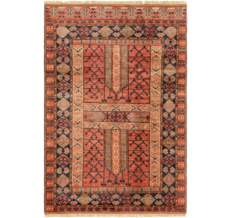 4' x 6' Afghan Ersari Rug
