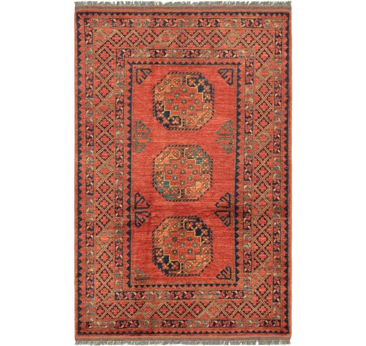 4' 1 x 6' 4 Afghan Ersari Rug