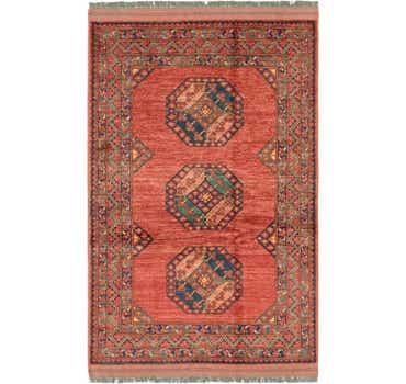 4' 1 x 6' 7 Afghan Ersari Rug