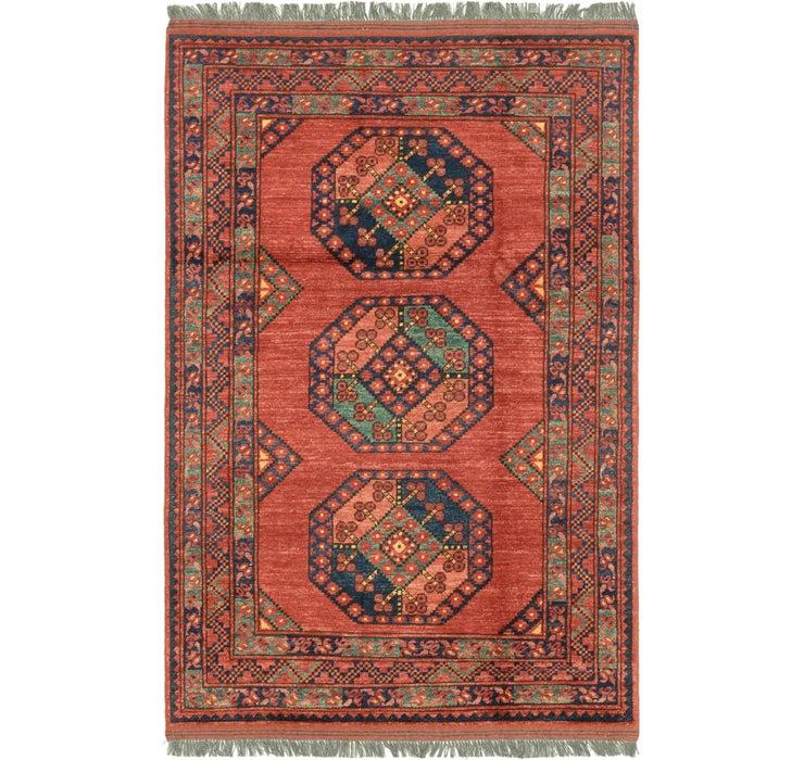 3' 9 x 5' 10 Afghan Ersari Rug