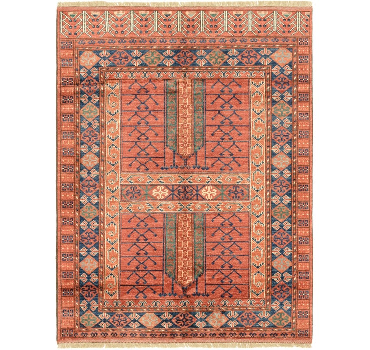 5' x 6' 7 Afghan Ersari Rug