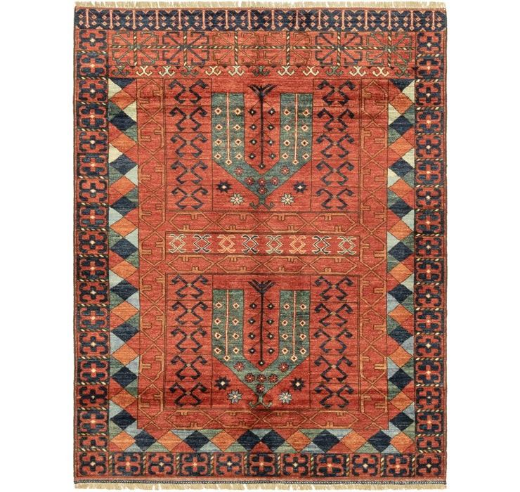 5' x 6' 6 Afghan Ersari Rug