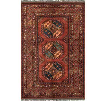 Image of  4' x 6' 1 Afghan Ersari Rug