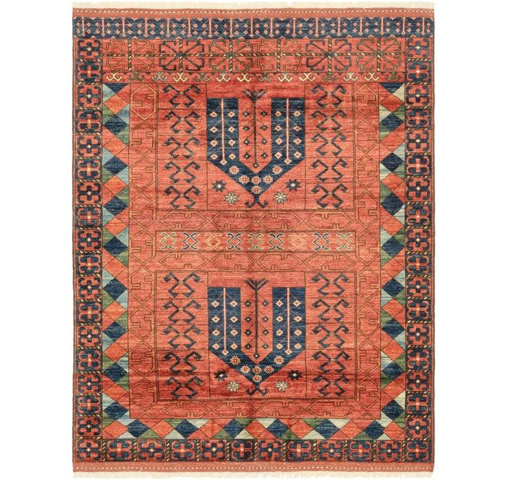 5' 3 x 6' 10 Afghan Ersari Rug