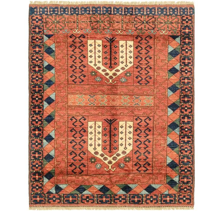 5' x 6' 2 Afghan Ersari Rug