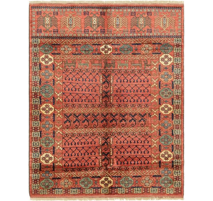 5' 1 x 6' 7 Afghan Ersari Rug
