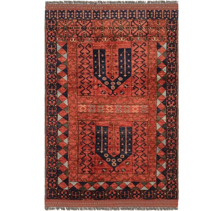 122cm x 190cm Afghan Ersari Rug