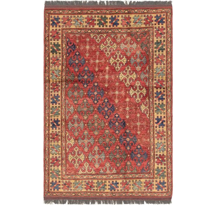 120cm x 188cm Afghan Ersari Rug