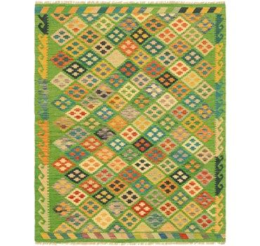 5' x 6' 7 Kilim Maymana Rug main image