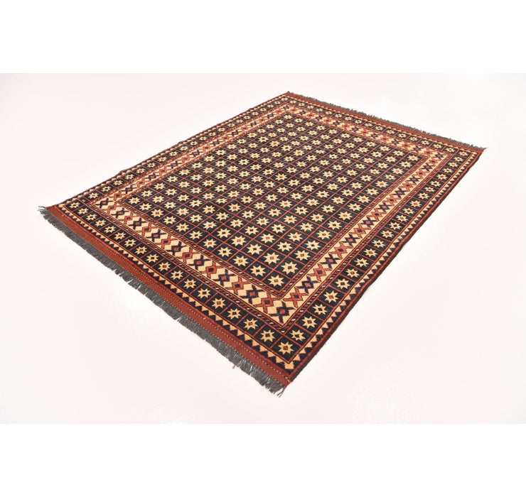 5' 6 x 7' 2 Afghan Ersari Rug