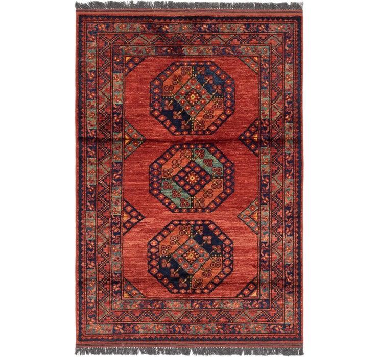 117cm x 175cm Afghan Ersari Rug