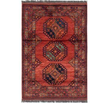 3' 10 x 5' 9 Afghan Ersari Rug