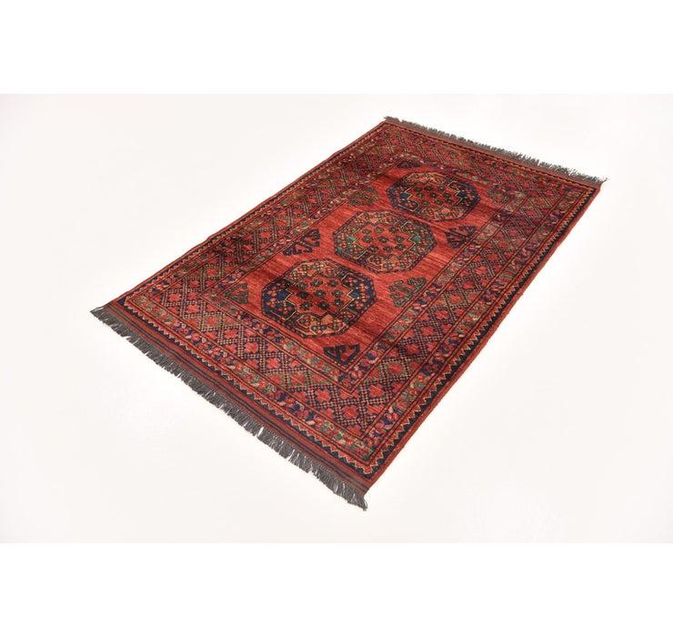 3' 7 x 5' 8 Afghan Ersari Rug