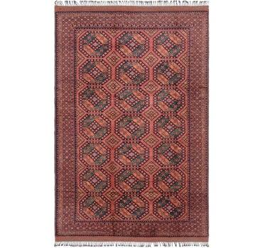 6' 7 x 10' 2 Afghan Ersari Rug main image