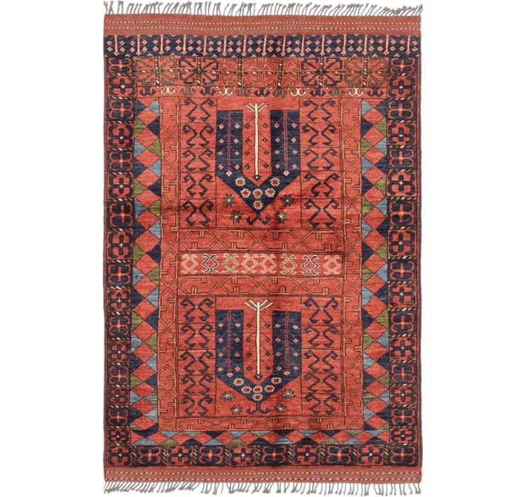 127cm x 188cm Afghan Ersari Rug