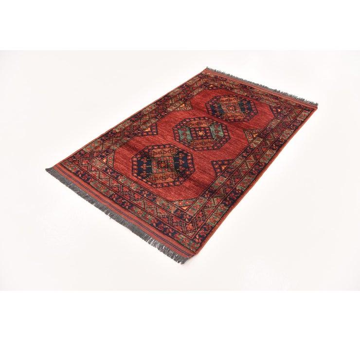 3' 6 x 5' 6 Afghan Ersari Rug