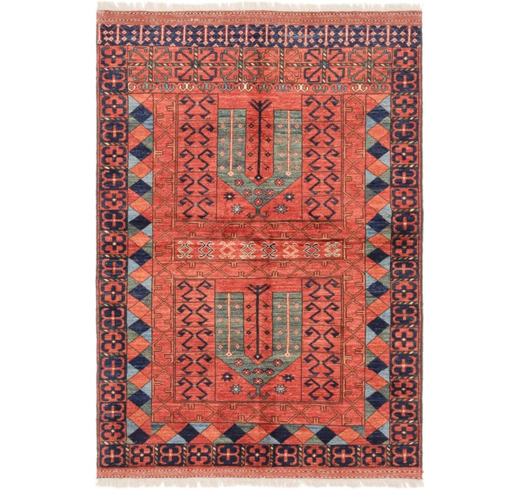 122cm x 183cm Afghan Ersari Rug