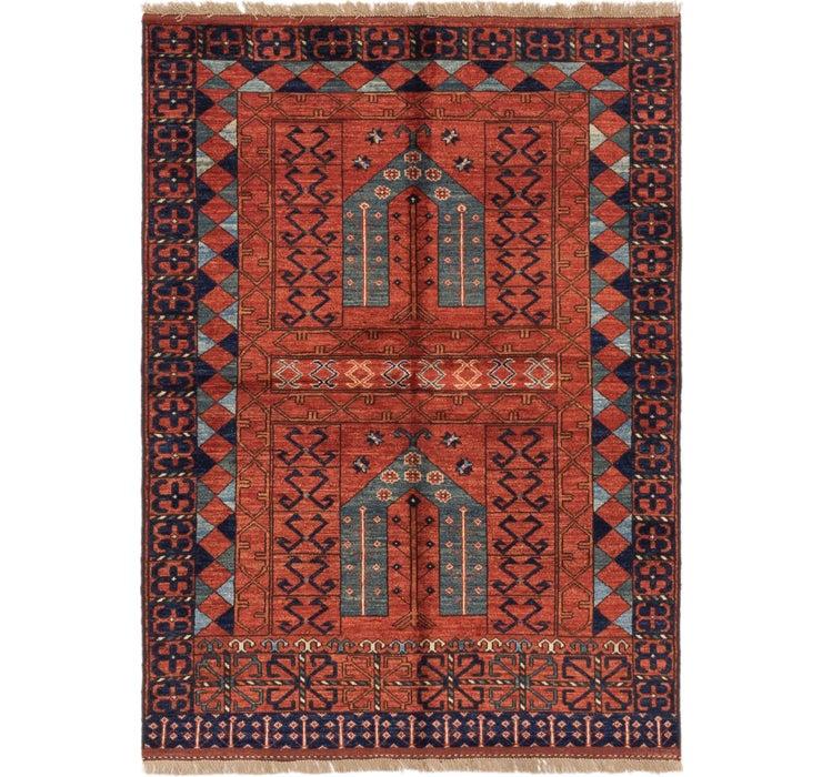 125cm x 173cm Afghan Ersari Rug