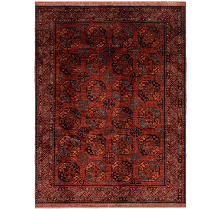 6' 11 x 9' 6 Afghan Ersari Rug