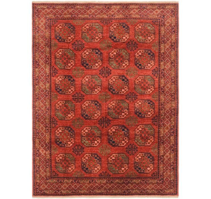 208cm x 277cm Afghan Ersari Rug