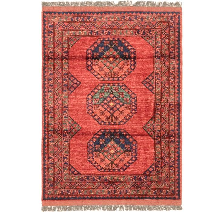 3' 9 x 5' 6 Afghan Ersari Rug