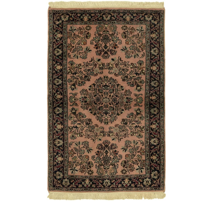 3' x 5' Sarough Oriental Rug