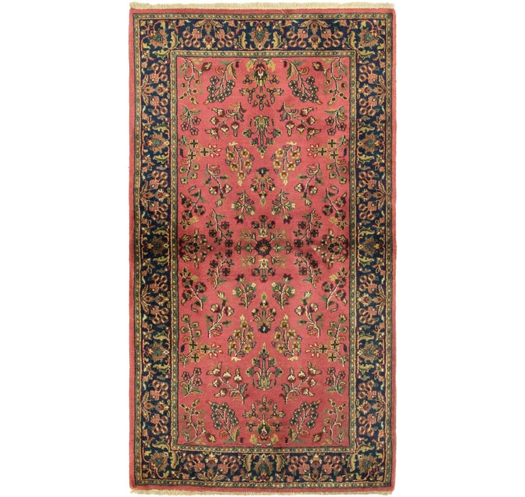 3' x 5' 5 Sarough Rug