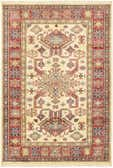 3' 4 x 4' 10 Kazak Oriental Rug thumbnail