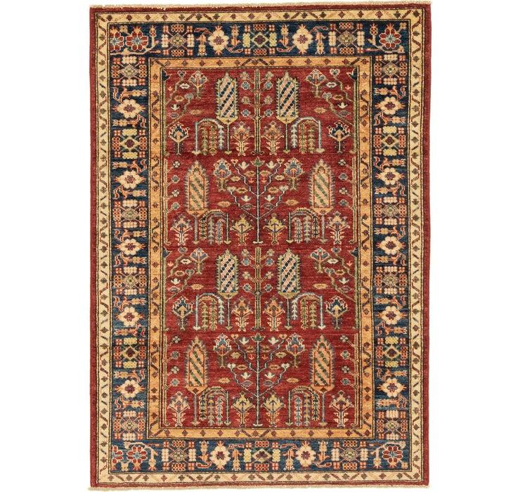 105cm x 147cm Kazak Oriental Rug