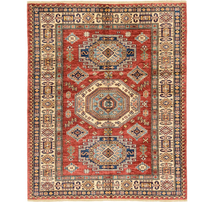 5' x 6' 3 Kazak Oriental Rug