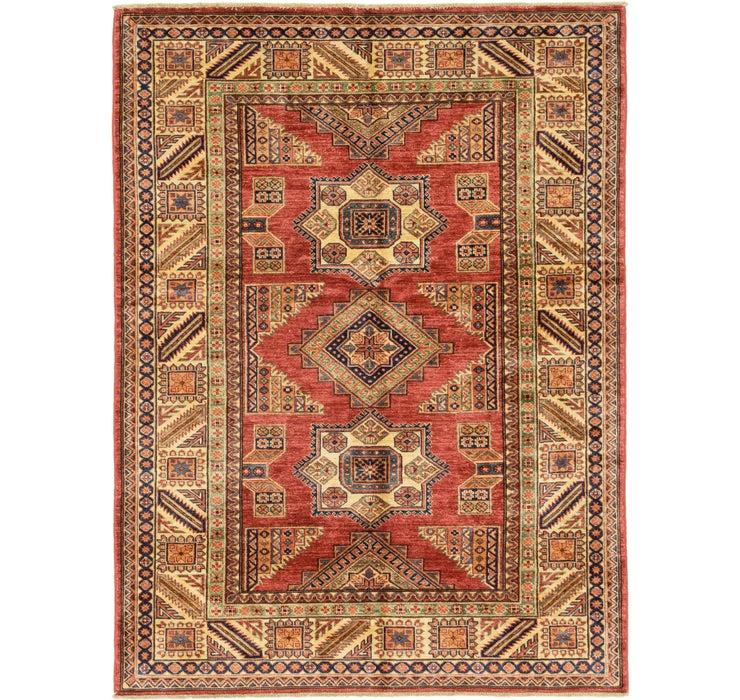 4' 9 x 6' 5 Kazak Oriental Rug