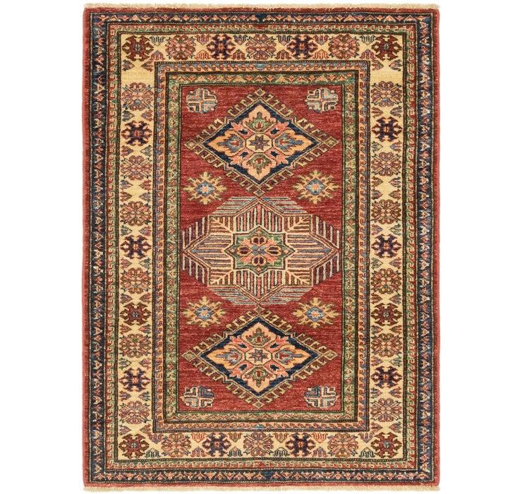 3' 4 x 4' 7 Kazak Oriental Rug