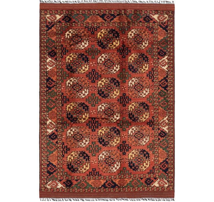208cm x 307cm Afghan Ersari Rug