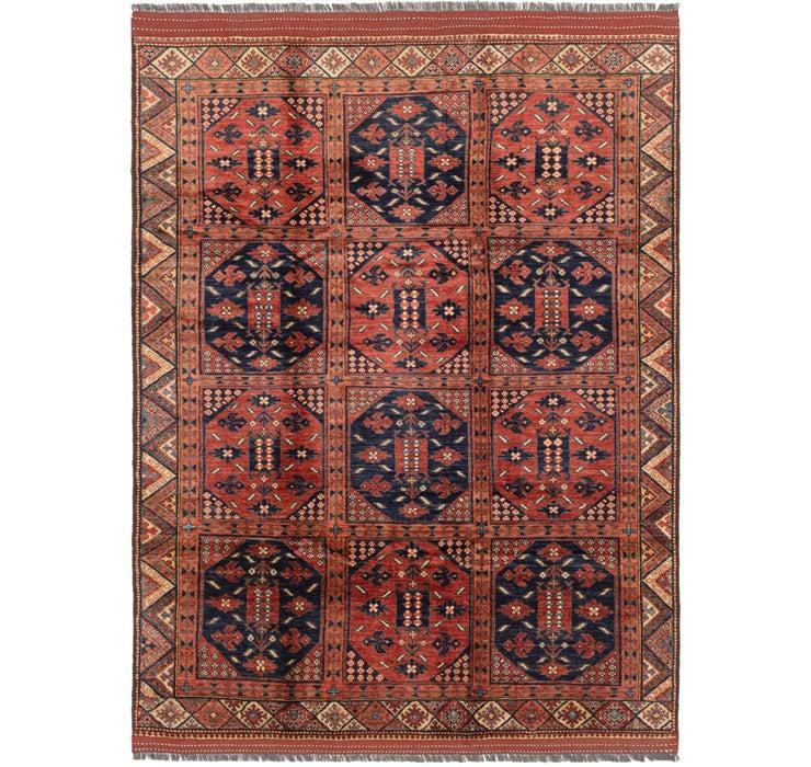 7' x 9' 7 Afghan Ersari Rug