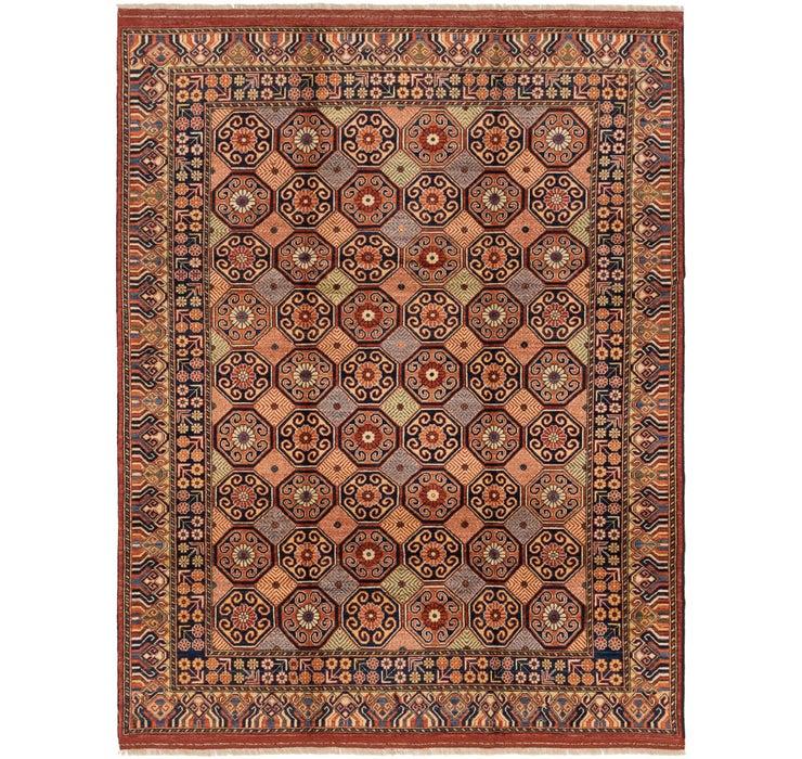 7' 6 x 9' 8 Afghan Ersari Rug