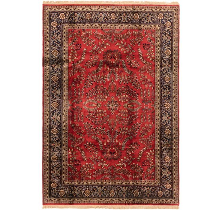 195cm x 290cm Sarough Oriental Rug